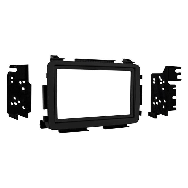 Metra 95-7810B Matte Black Double DIN Dash Kit for 2016-up Honda HR-V