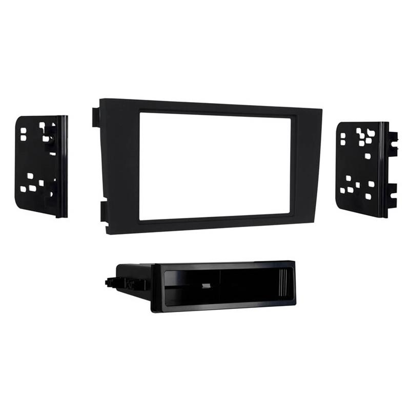 Metra 99-9108B Black Single/Double DIN Dash Kit for Select 00-05 Audi