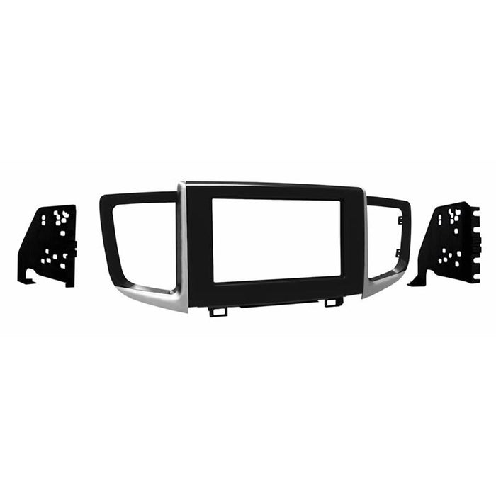 Metra 95-7811HG Gloss Black Double DIN Dash Kit for 16-up Honda Pilot
