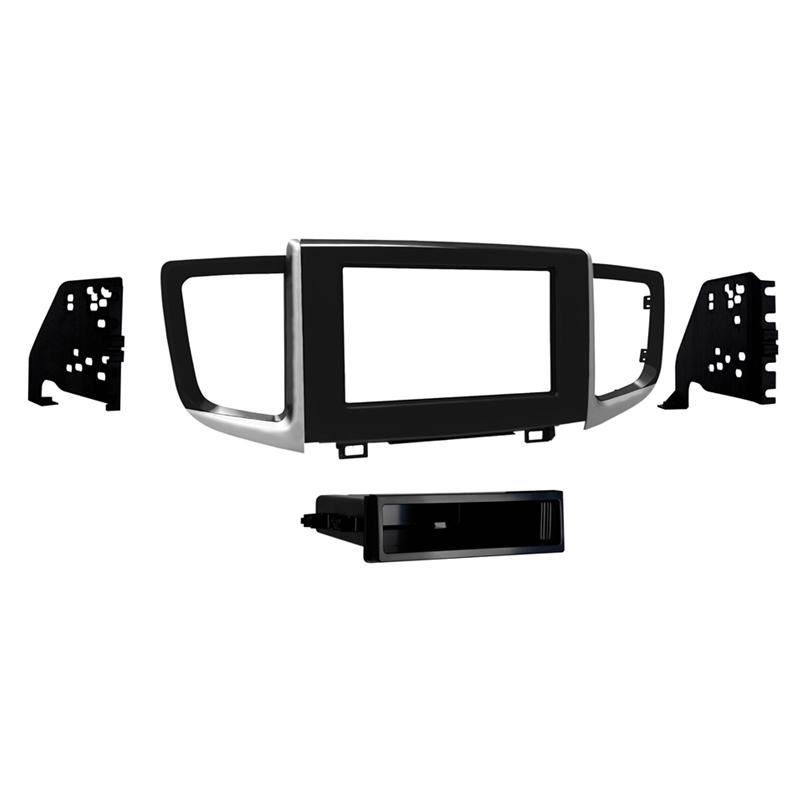 Metra 99-7811HG Gloss Black Single DIN Dash Kit for 16-up Honda Pilot