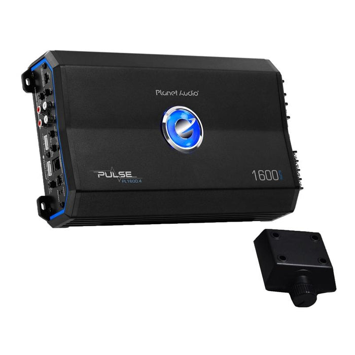 Planet Audio PL1600.4 4-Channel 1600W Power Car Amplifier with Remote