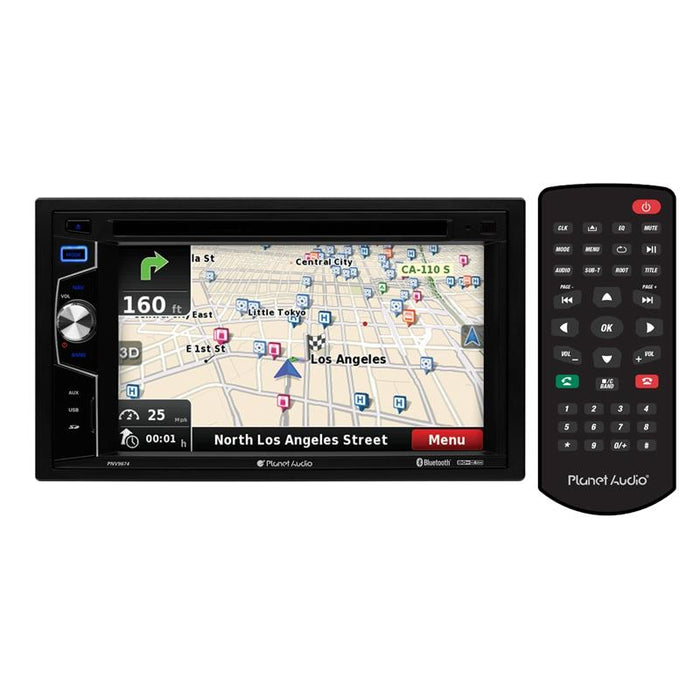Planet Audio PNV9674 DVD/MP3/CD Bluetooth Navigation Car Receiver