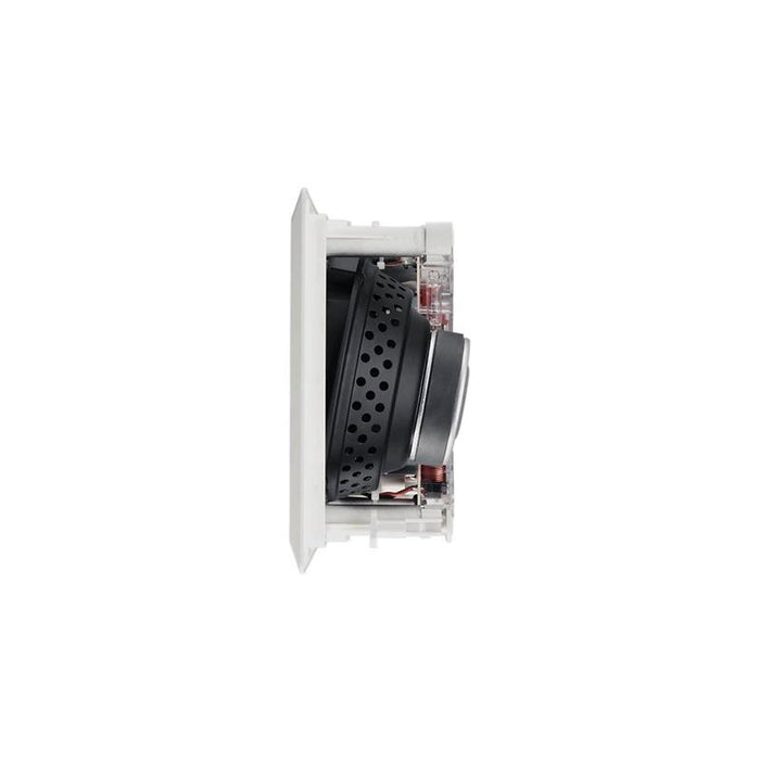"White 2-Way 6-1/2"" 100 Watts 6 Ohms In-Wall Center Channel Speaker"