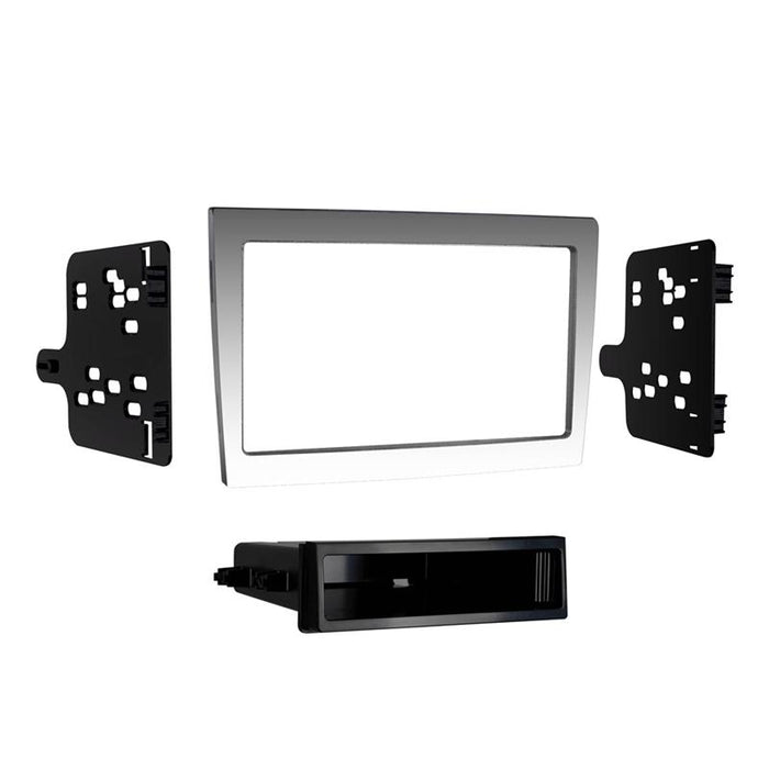 Metra 99-9606G Gray 1 or 2 DIN Dash Kit for 2005-2012 Porsche 997