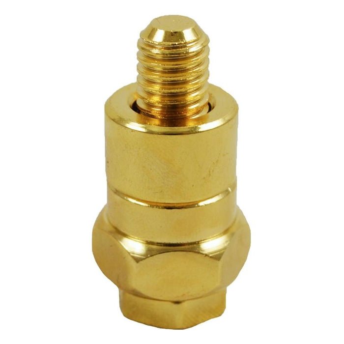 Gold Plated GM Long Side Post Battery Terminal Adapter (1/pack)