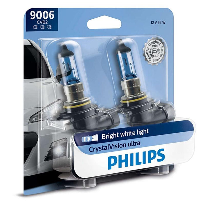Philips 9006 Crystal Vision Ultra CVB2 55W HID Look Headlight (Pair)