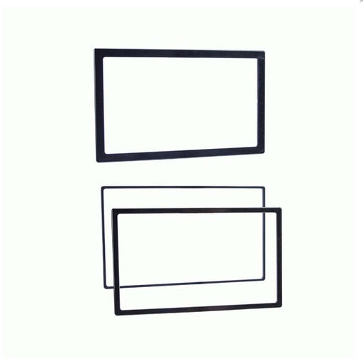 "Metra 89-50-0900 Double DIN Trim Ring Borders 1/8"", 1/4"", 3/8"" (3/pk)"