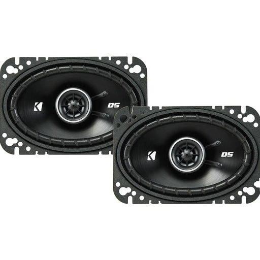 "Kicker 43DSC4604 4"" x 6"" inch 120 Watts 2 way coaxial speakers"