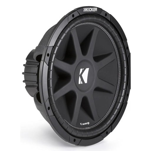 "Kicker 43C154 15"" 500 Watts Comp 4 ohm Single Voice Coil Subwoofer"