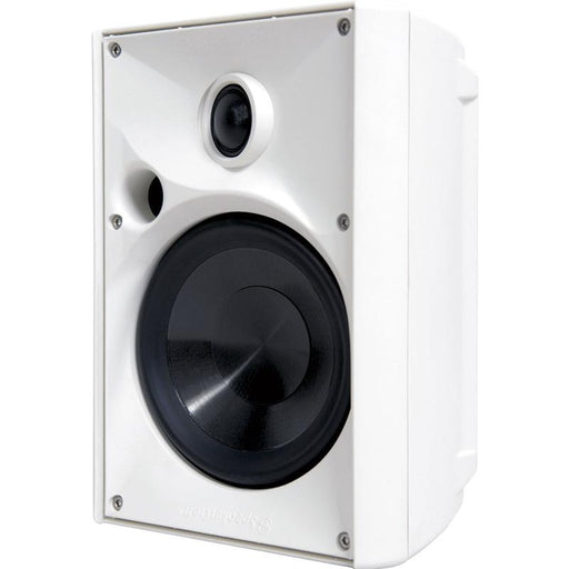 SpeakerCraft OE5 Indoor/Outdoor Speaker White Weather Resistant (ea)