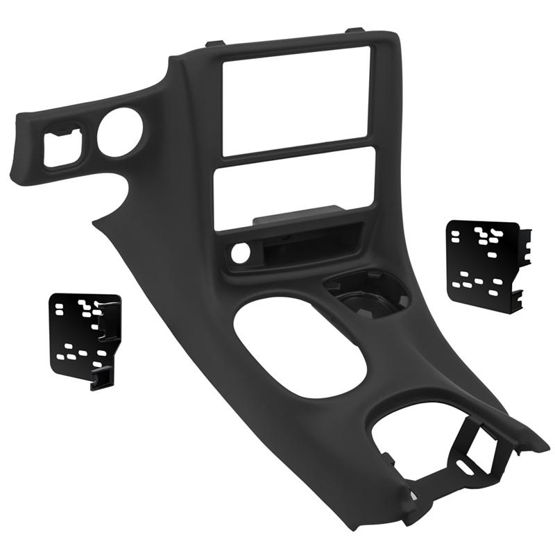 Metra DP-3021B Black Double DIN Dash Kit for 97-04 Chevrolet Corvette