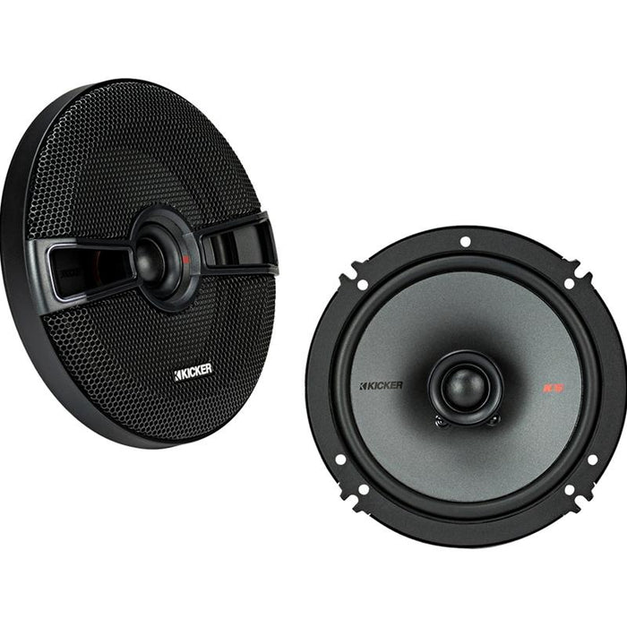 "Kicker 44KSC6504 6-1/2"" 6.5 inch 2 Way 200 Watts Coaxial speakers"
