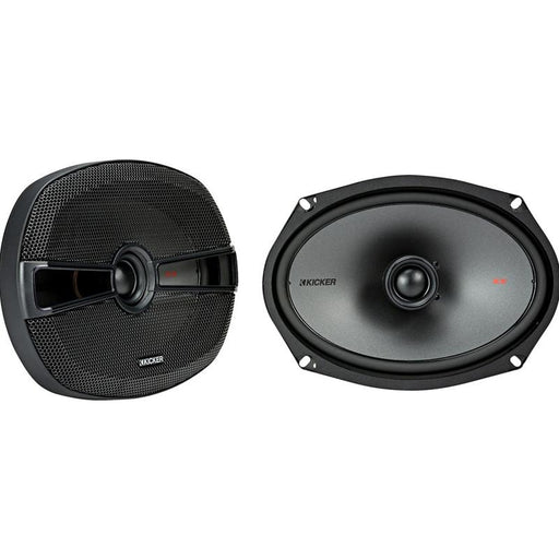 "Kicker 44KSC6904 6"" X 9"" inch 2 Way 300 Watts Coaxial Speakers"