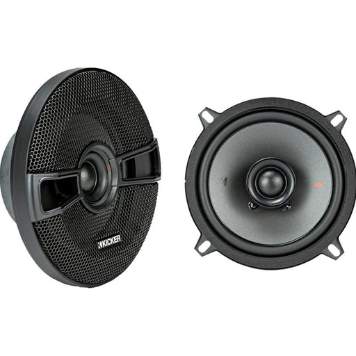 "Kicker 44KSC504 5-1/4"" 5.25 inch 150 Watts 2 Way Coaxial Speakers"
