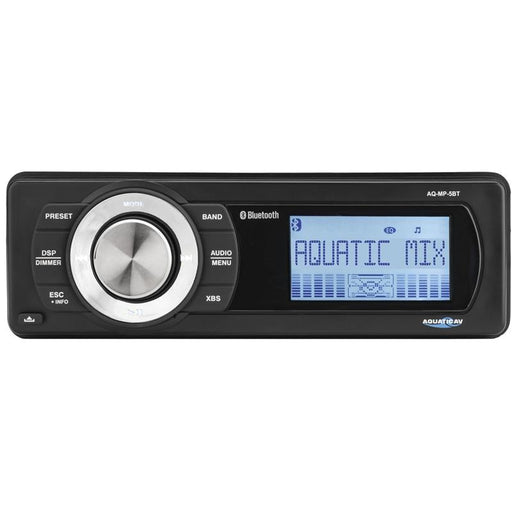 Aquatic AV AQ-MP-5BT Bluetooth Waterproof Marine Stereo Receiver