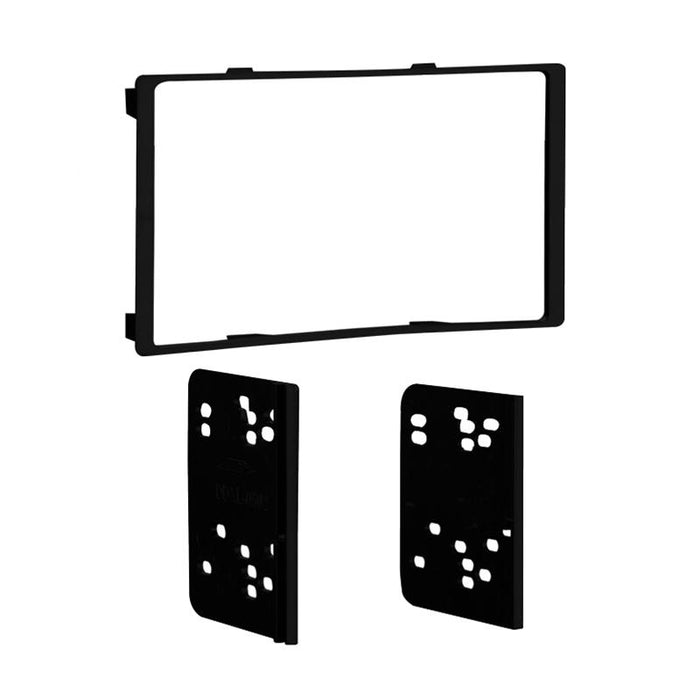 Metra 95-8226B Black Double DIN Dash Kit for Select 10-up Toyota Prius