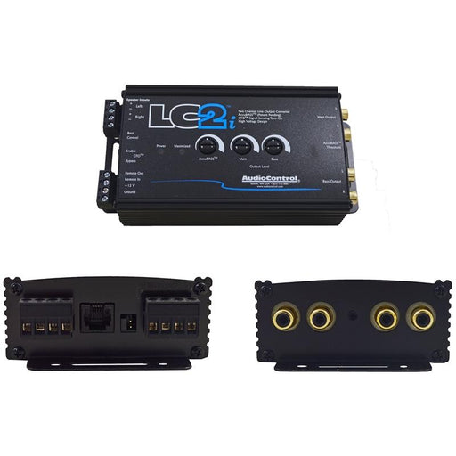 AudioControl LC2i Black 2-Channel Line Output Converter with AccuBASS