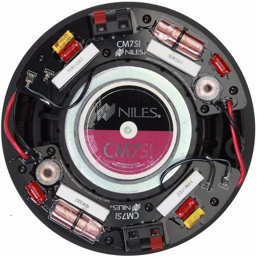 "Niles CM7SI 7"" 2-Way 130 Watts Single Stereo Input In Ceiling Speaker"