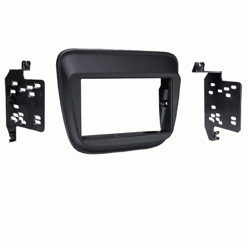 Metra 95-3022B Black Double DIN Dash Kit for Select Chevrolet Equinox