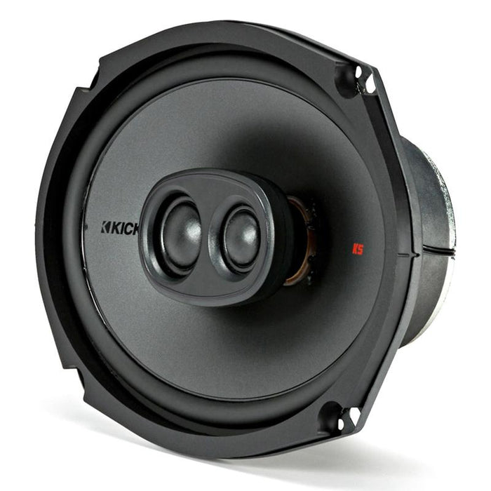 "Kicker 44KSC69304 6"" X 9"" inch 3 Way 300 Watts Coaxial Speakers"