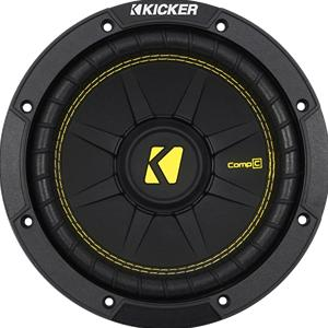 "Kicker 44CWCS84 8"" 400 Watts Comp C 4 ohm Single Voice Coil Subwoofer"