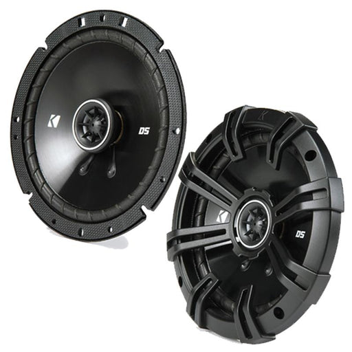 "Kicker 43DSC6704 6.75"" DS Series 240 watts 4 ohms 2 way coaxial speakers"