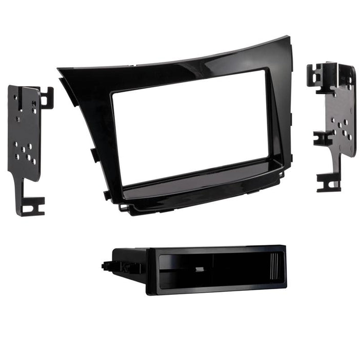 Metra 99-7380HG 1 or 2-DIN Dash Kit for Select 16-up Hyundai Elantra