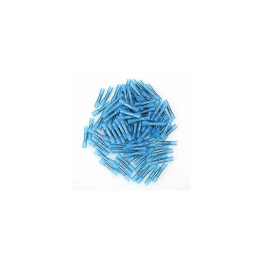 The Install Bay BNBC-1 Blue Nylon Butt Connector 16-14Gauge(1000/pack)