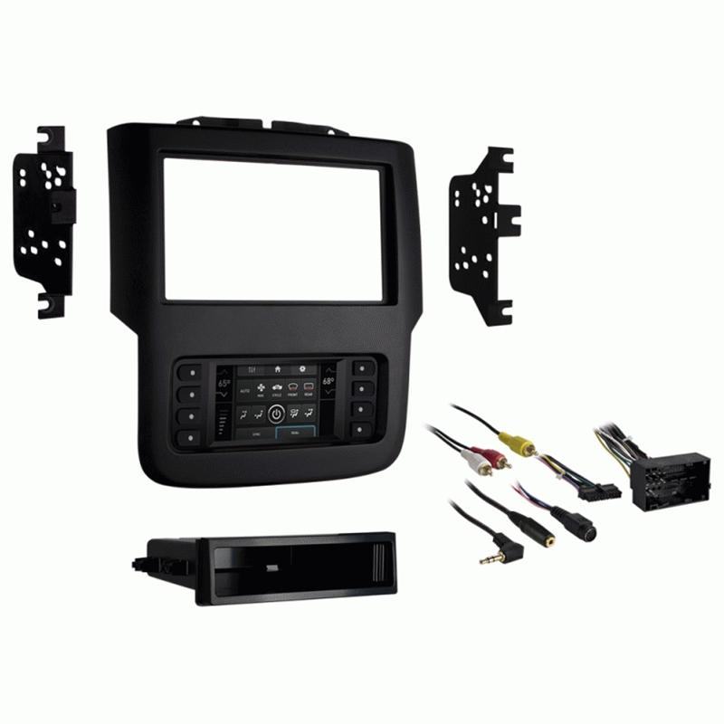 "Metra 99-6527B 1-2DIN Dash Kit for Dodge Ram(w/8""touchscreen) 2013-up"