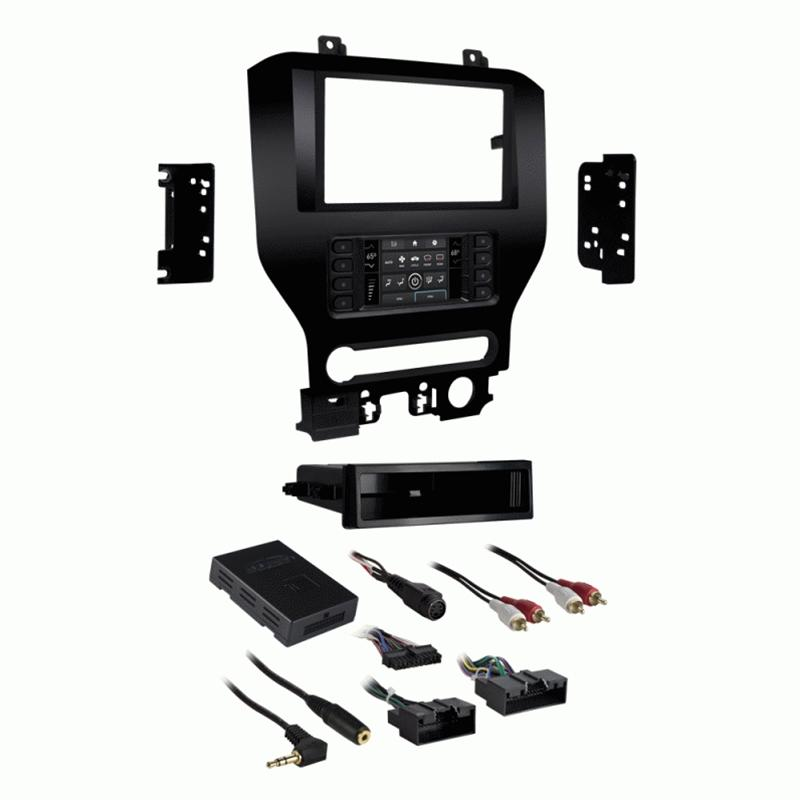"Metra 99-5840CH 1-2DIN Dash Kit for Ford Mustang 2015-up (w/8"" screen)"