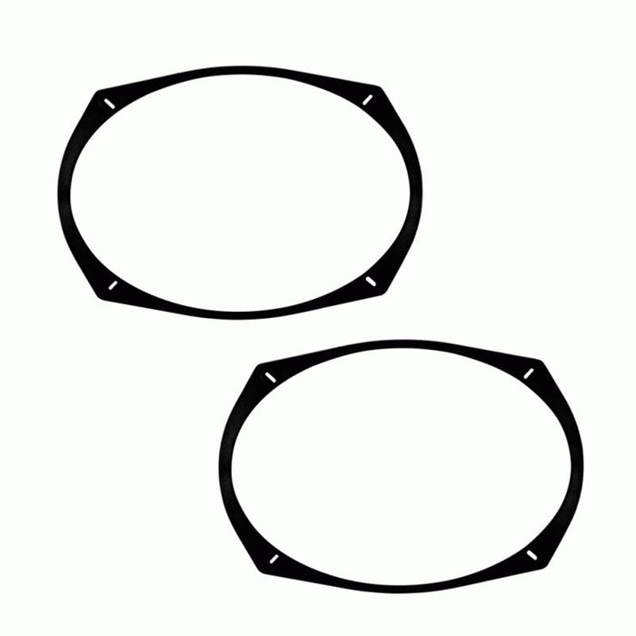 Metra 82-6902 Universal 6 x 9 Speaker Spacer Stackable 1/2 inch pair