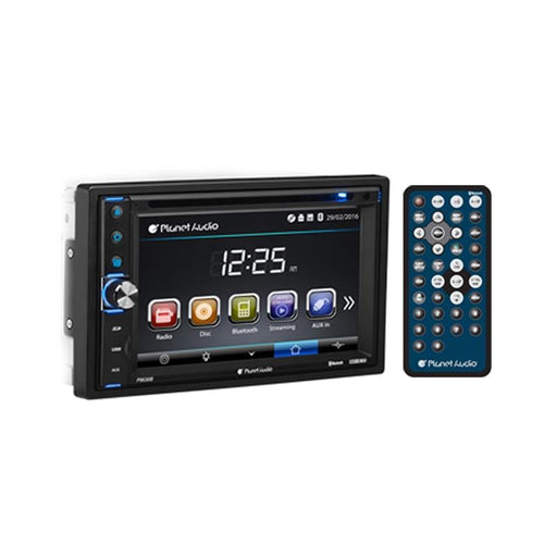 "Planet Audio P9630B 6.2"" Touchscreen DVD USB SD AUX Bluetooth Stereo"