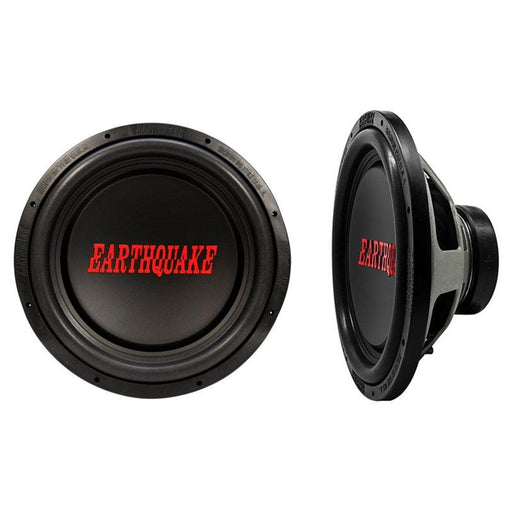 "Earthquake Sound Tremor-X15D4 1500W 4 Ohm Dual Voice Coil 15""Subwoofer"