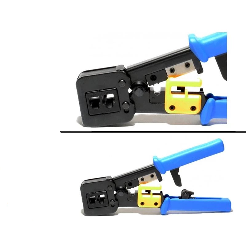 LT708 Modular Crimping Tool for EZ-RJ45/RJ12/11 Cat5e Cat6 Connectors