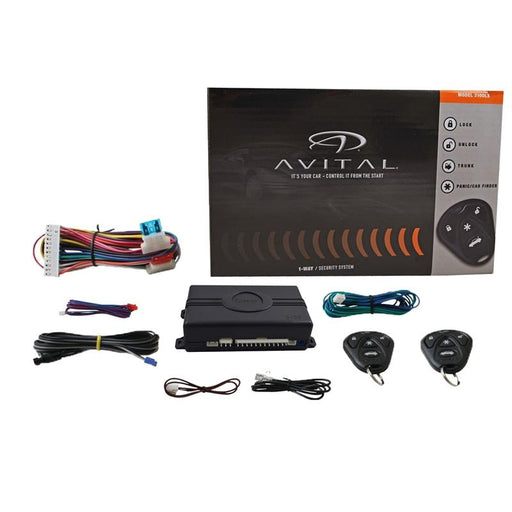 Avital 3100LX Car Security System Keyless Entry Failsafe Starter Kill