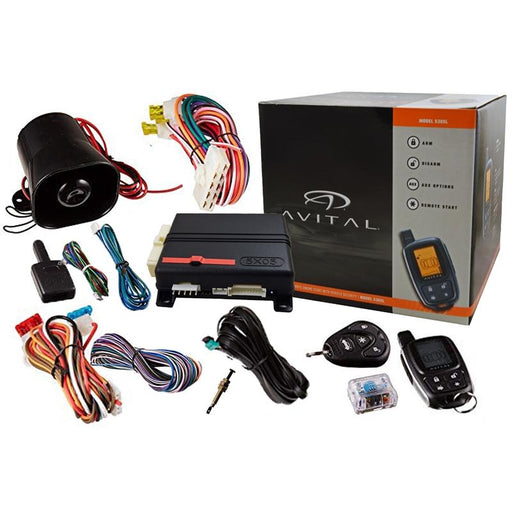 Avital 5305L 2-Way Security System Alarm Responder Remote Start w/ D2D