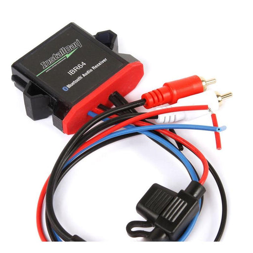 Install Bay IBR64 Water Proof Bluetooth Audio Receiver to RCA Output