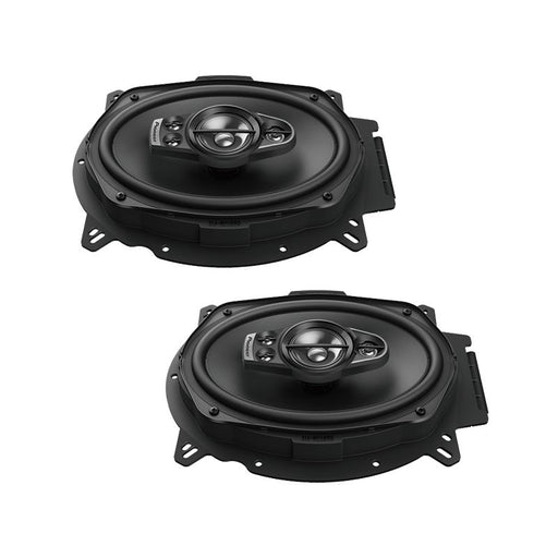 "Pioneer TS-A6970F 5-Way 600 Watt 6"" x 9"" A-Series Coaxial Speakers 6x9"