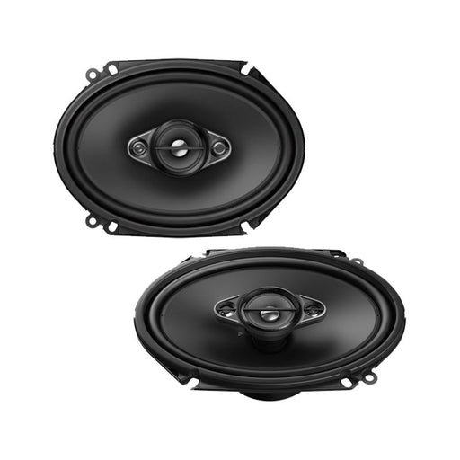 "Pioneer TS-A6880F 4-Way 350 Watt 6"" x 8"" A-Series Coaxial Speakers 6x8"