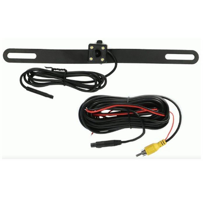 The Install Bay CC004 License Plate Active Line Camera 160° Viewing Angle