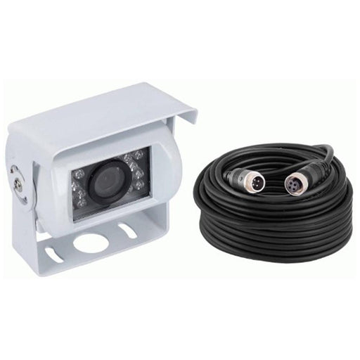 The Install Bay CC012 Commercial White Camera 160° Viewing Angle with IR Lights
