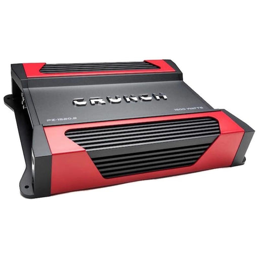 Crunch PZ-1520.2 1500W Powerzone 2-Channel 2 ohm Stable Class-A/B Car Amplifier