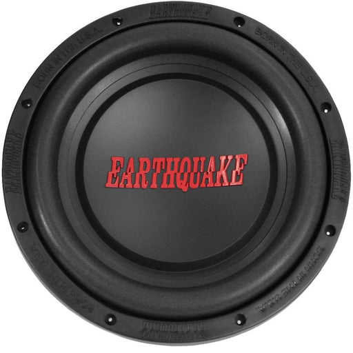 "Earthquake Sound TREMOR-X104 X Series 10"" 1000W Max Single 4 ohm Subwoofer"