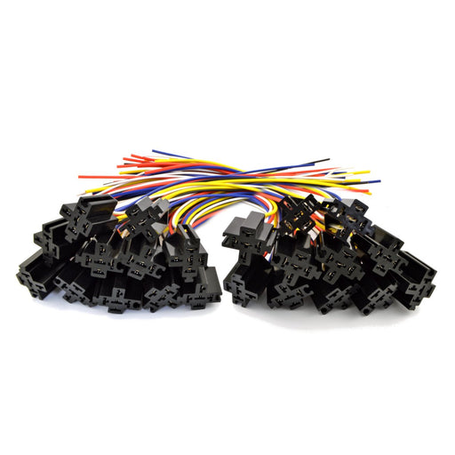 The Install Bay ERS-124 Economy Relay Socket with 12' Leads Pack of 25
