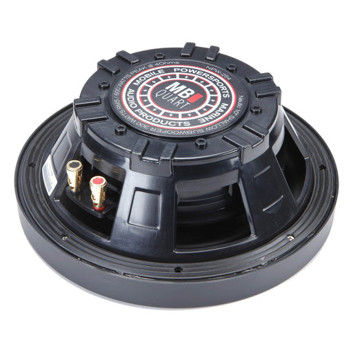 "MB Quart NPW-254 10"" Nautic Series Marine Subwoofer With 3 Grill Colors Included 600W"