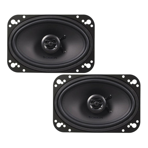 "Orion CO46 4x6"" 200W MAX 2 Way Cobalt Series Car Coaxial Audio Speaker"
