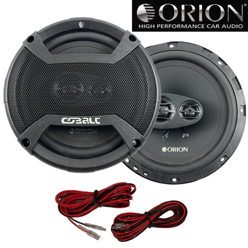 "Orion CO653 6.5"" Inch Cobalt Series 3 Way Full Range Coaxial Speakers 300 Watts"
