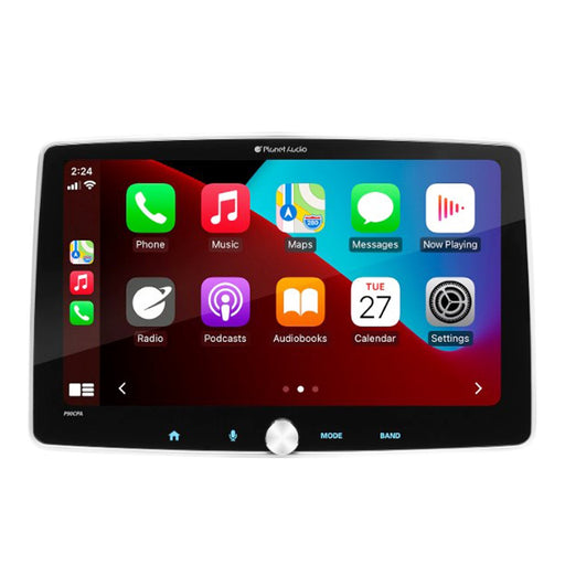 "Planet Audio P90CPA 9.1"" Car Multimedia Player with Android Auto and Apple CarPlay-Black"