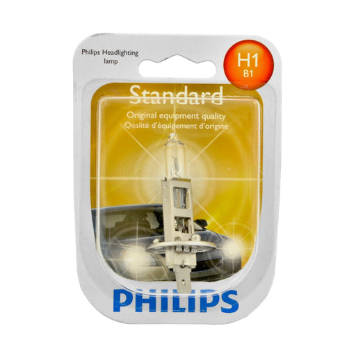 Philips 12258B1 H1 Standard Halogen Replacement Headlight Bulb- Pack of 1