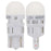 Philips 168 Ultinon White LED Bulb Interior Lights OE Replace 2-Pack 168ULWX2
